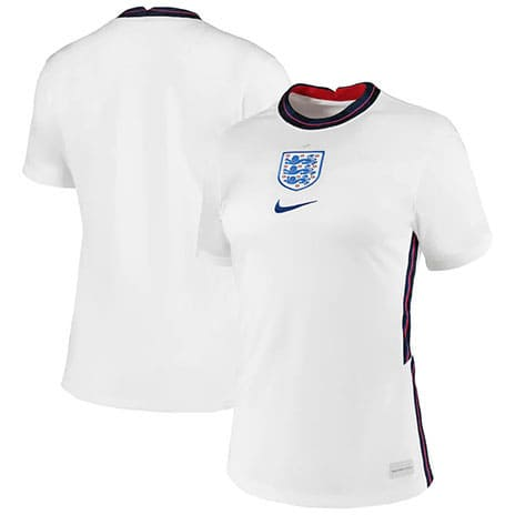Maillot Angleterre femme domicile euro 2020