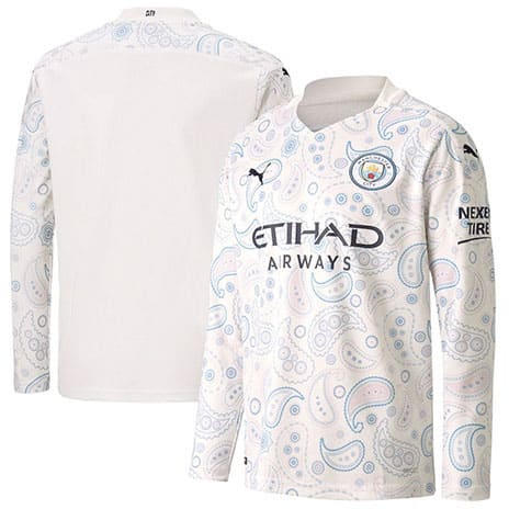 Maillot Manchester City third ML 2020-2021