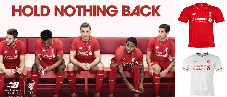 Maillot Liverpool 2015 2016
