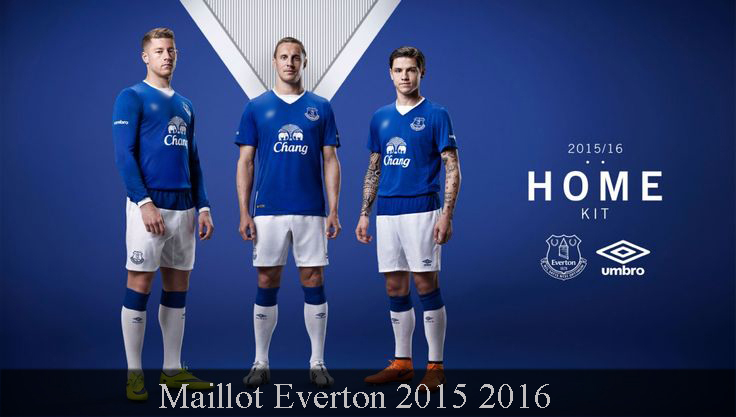 Maillot Everton 2015 2016
