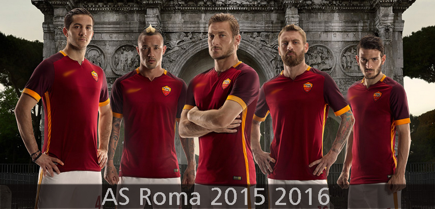 Maillot AS Roma 2015 2016