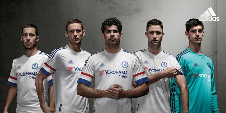 Maillot Chelsea 2015 2016